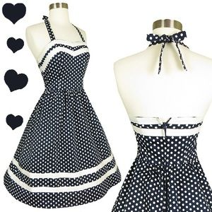 Retro polka dot ModCloth dress